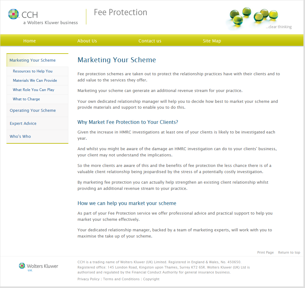 cch-fee-protection-managing-scheme-screenshot